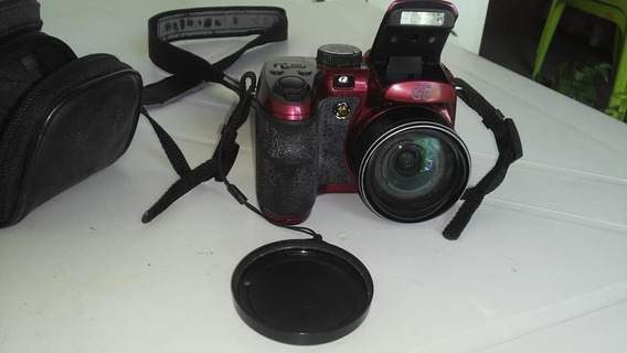 Câmera Digital Ge X500 16mp Lcd 2.7 Zoom 15x