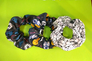 Scrunchies De Star Wars Darth Vader Stormtrooper Luke Han
