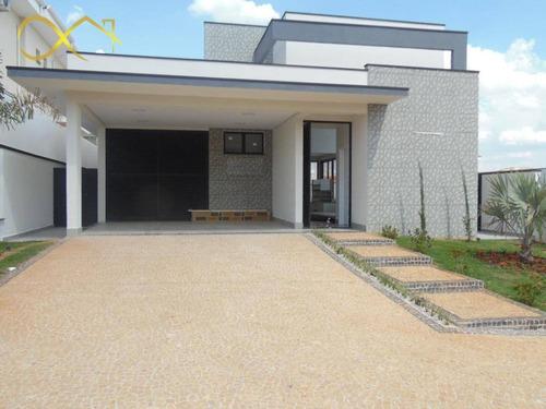 Imagem 1 de 30 de Casa Com 3 Dormitórios À Venda, 197 M² Por R$ 1.550.000,00 - Condomínio Terras Do Cancioneiro - Paulínia/sp - Ca2072