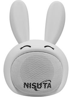 Parlante Portátil Bluetooth Doble Parlante Conejo Nspa81bc