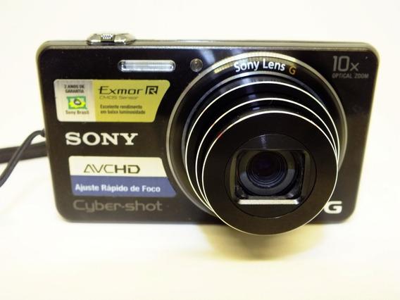Câmera Digital Compacta Sony - Cybershot Dsc-wx100 - Usada