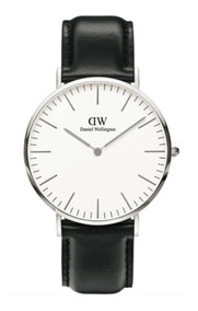 Daniel Wellington | Classic 40mm ( Sheffield ) Silver