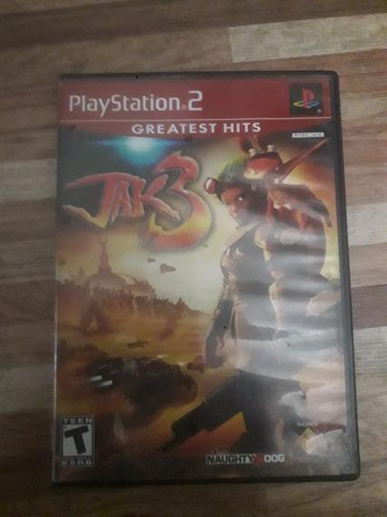 Jogo Jak3 Original Playstation2 Edição Greatest Hits
