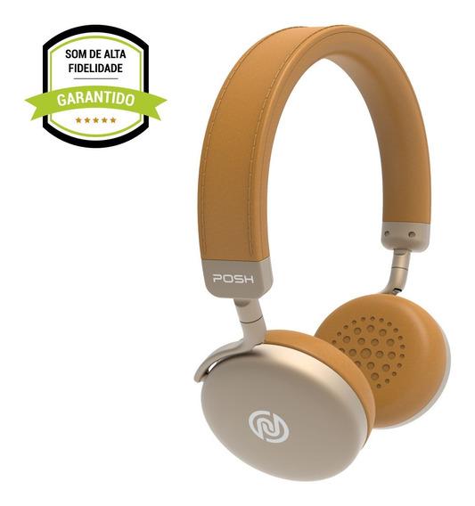 Headphone Fone De Ouvido Bluetooth Celular Posh Prestige Gd