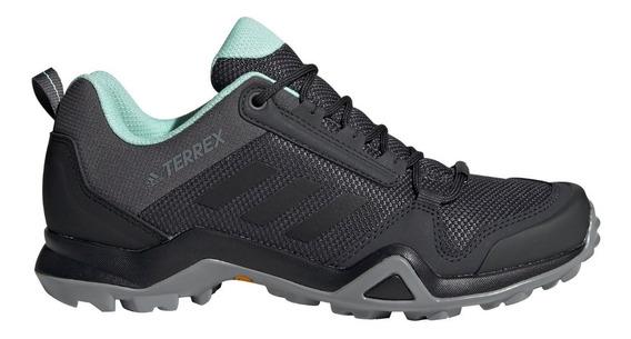 Zapatillas adidas Outdoor Terrex Ax3 De Mujer Gri/cel