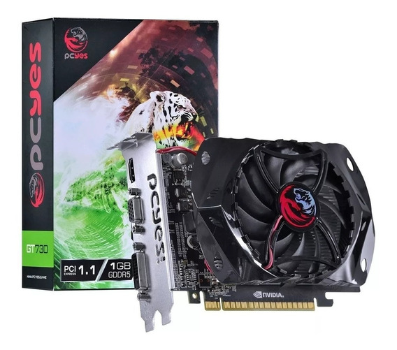 Placa De Video Gt 730 1gb Ddr5 128 Bits Geforce Nvidia - Nfe