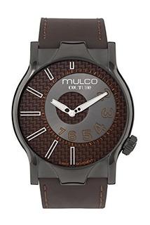Reloj De Hombre Mulco Couture Nyc Quartz Slim Analog Swiss W