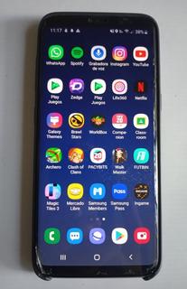 Celular Samsung S8 Cargador Caja 4 Meses Uso Casi Nuevo