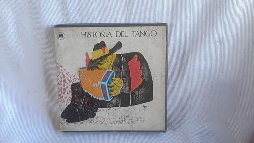 Imagen 1 de 7 de Historia Del Tango Libro + 3 Cassettes Y Estuche Mh