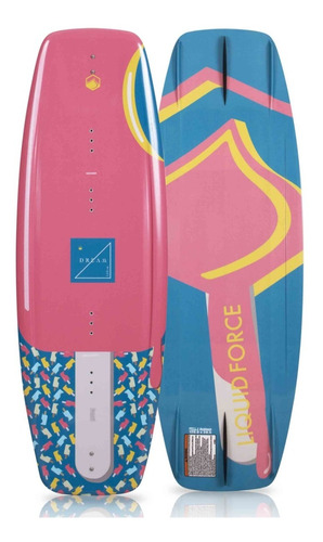 Tabla De Wakeboard Y Botas Para Niñas Liquid Force Dream 120 Mercado Libre