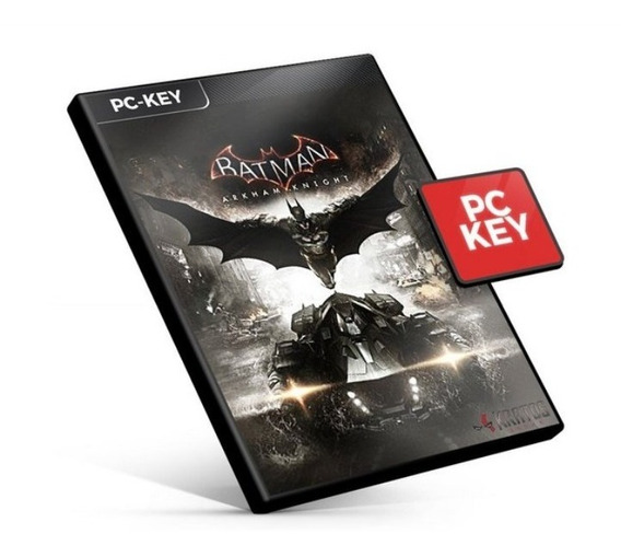 Batman Arkham Knight Português Steam Key Código 15 Dígitos