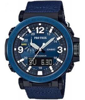 Reloj Casio Protrek Modelo Prg-600 Lona Azul