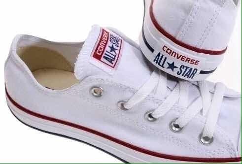 Zapatos Converse All Star Clasico Blancas Damas Chuck Taylor