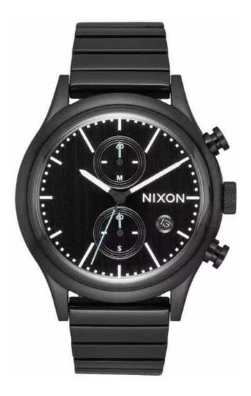 Relógio Nixon The Station Chrono Unissex 41mm Fosco