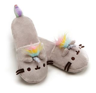 Pantuflas Pusheen Unicornio