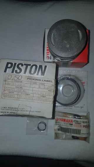 Kit Pistao 0.50mm Ybr Xtz Ttr 125 Original Yamaha