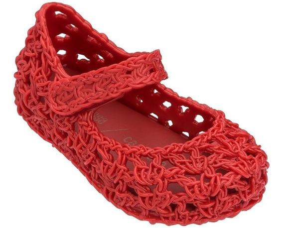 Sapatilha Mini Melissa Campana Crochet