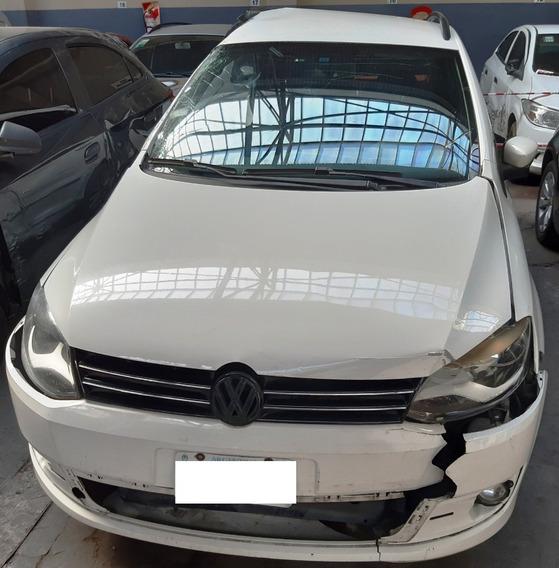 Volkswagen Suran 1.6 - 2013 - Chocado - Motor Enciende