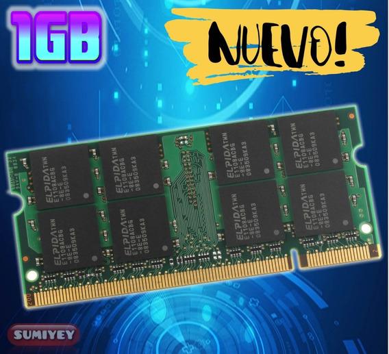 #4 Memoria Ddr2 1gb Pc2-5300 667 Mhz 1.8v Cl=5 Laptop