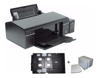 Impresora Epson L805 + Kit Tarjetas Plásticas + 25 Tarjetas