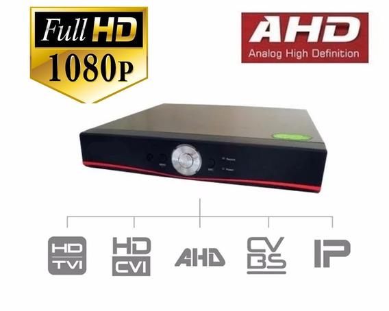 Dvr Stand Alone Ahd 4 Canais H264 Fullhd 4 Câmeras Segurança