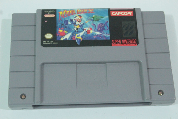 Jogo Megaman X Original Super Nintendo Snes Cod-02