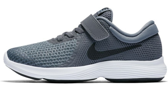 Tenis Infantil Nike Revolution 4 Psv Cinza 100% Original