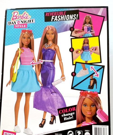 Barbie Fashion Estilo Dia E Noite - Boneca - Mattel