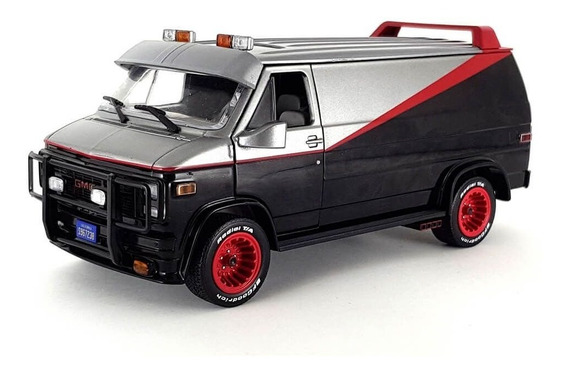 Gmc Vandura 1983 Ateam Esquadrão Classe A 1:24 Greenlight