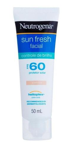 Protetor Solar Facial Neutrogena Sun Fresh Controle Do Brilh
