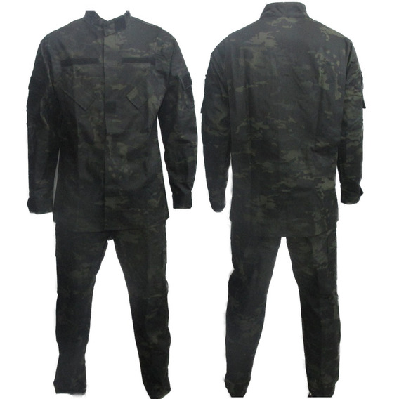 Farda Camuflado Multicam Black By Bravo21