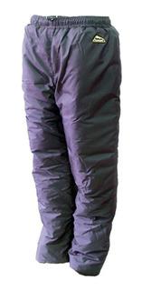 Calça Polar C/ Enchimento Térmico 125gr Acampar - Preta - Gg