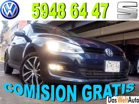 Vw Golf 1.4 Highline Dsg At Agecia Credito Y Garantia!!