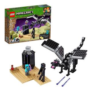 Lego Minecraft La Batalla Final Ender Dragon Kit