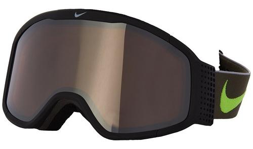 Antiparras Ski Snowboard // Nike Mazot Black Volt