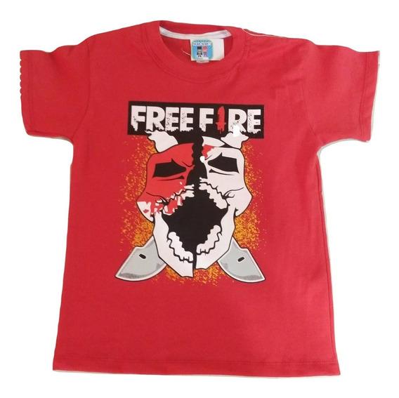 Remera Free Fire