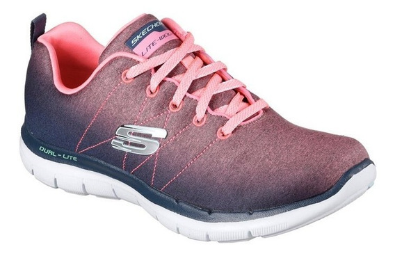 Zapatillas Skechers Flex Appeal 2.0 Bright Side - Originales
