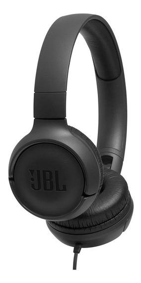Fone De Ouvido Original Jbl T500 Headphone Tune 500 Preto