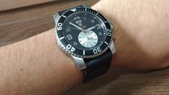 Relógio Victorinox 241178 Swiss Army Maverick 2 Dual Time