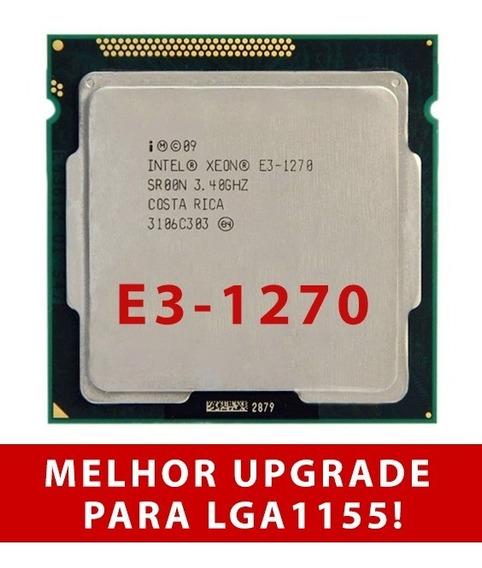 Processador Intel Xeon E3 1270 V1 3.4ghz Melhor Que I7 2600