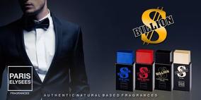 Kit 3 Perfumes Billion Paris Elysees
