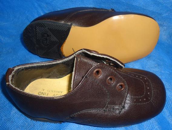 Zapato Niño Be-ribe Calzado Muy Fino Forrado 22