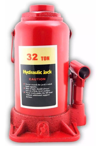 Crique Hidraulico Auto 4x4 Botella 32 Toneladas Reforzado