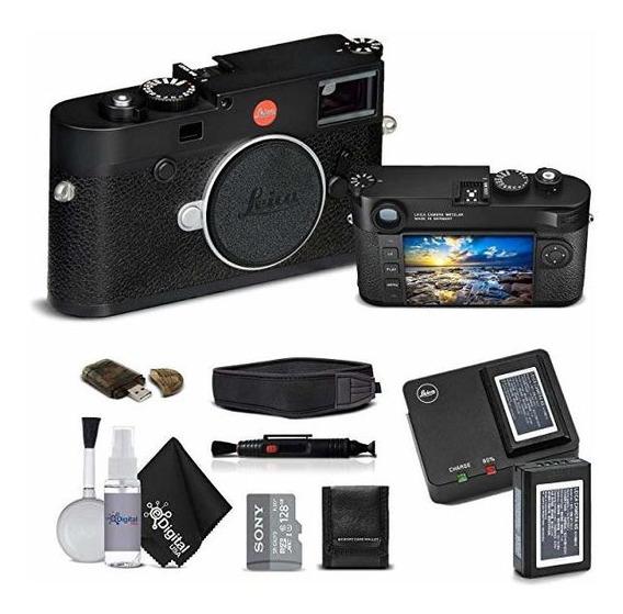 Camara Leica M10 Digital Rangefinder Black Sony 128gb Memo ®