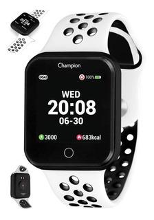 Smartwatch Champion Bluetooth Inteligente Fitness Completo