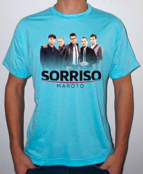 Camiseta Ou Baby Look Sorriso Maroto
