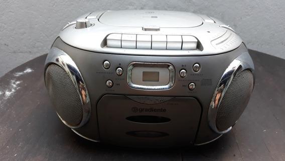 Rádio Portátil Usado Cd Player Gradiente Am Fm