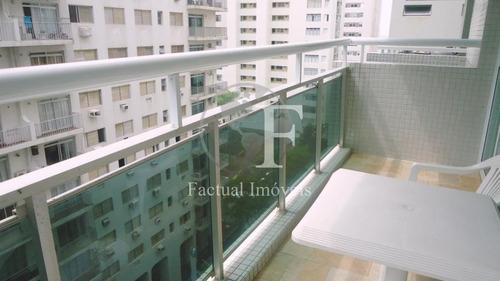 Apartamento Com 3 Dormitórios À Venda, 120 M² Por R$ 530.000,00 - Pitangueiras - Guarujá/sp - Ap8093