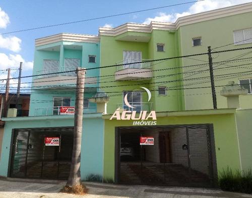 Sobrado Com 3 Dormitórios À Venda, 126 M² Por R$ 700.115,00 - Paraíso - Santo André/sp - So0332