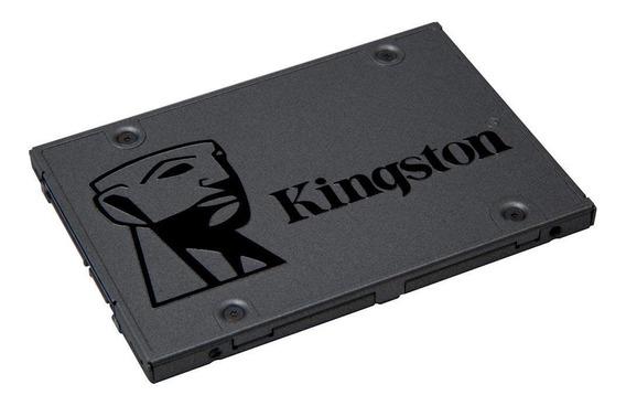 Ssd 120gb Sata Kingston A400 Leitura 500mb/s Escrita 320mb/s